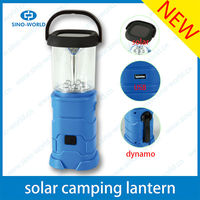 Portable&Rechargeable Small LED Solar Camping Lantern for Camping equipment