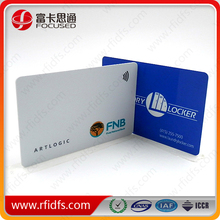 Pinted rfid card (em4305 ) with logo,both size or one side printing are available