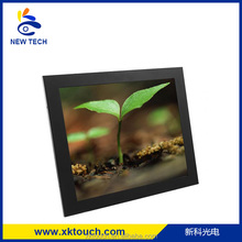 15 inch touch screen TFT LCD monitor with capacitive/infrared/resistive touch screen