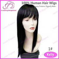 Free Shipping Fashion Style Natural Looking India Sexi Women Long Wigs With Hair Line