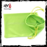 Hot sale drawstring pouch for sunglasses,microfiber bag with printed logo,sunglasses microfiber pouch