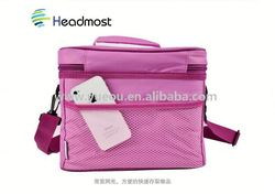 advertising can shaped cooler bag wellpromotion high quality radio cooler bag with speaker