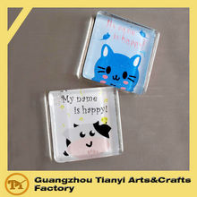 2015 Souvenir Blank Acrylic Fridge Magnets
