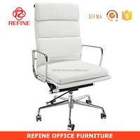 Chinese premium white ergonomic swivel high back emes office executive chair RF-S064B