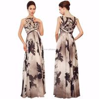 100% Real Photo Hot sale Siduo high end chiffon dress evening dress Long Prom dresses