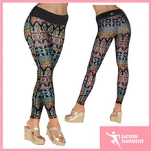 high quality 90% polyester 10% spandex womens yoga pants fitness /yoga leggings
