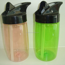 400ml kids water bottle with silicone drinking spout