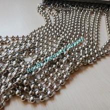 Decorative Any cut length beaded chain curtain