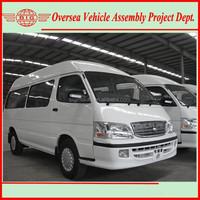 15 Seats RHD Diesel or Gasoline Passenger Van for Sale