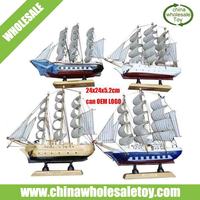 2015 Antique wooden ship model, nautical crafts, wooden crafts