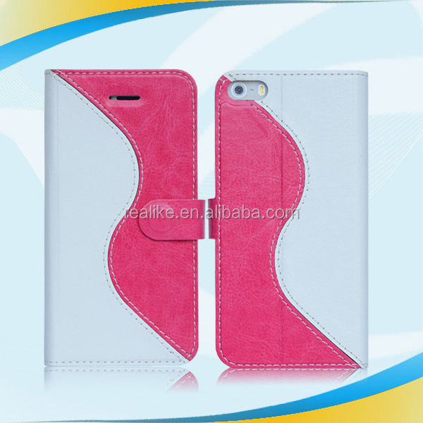 high quality stand design hybrid imd luxury pu leather case for iphone 4s