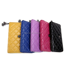 Exquisite workmanship Lady wallets Crocodile skin branded types of mens wallets