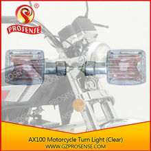 AX100 Motorcycle Turn Light (Clear)