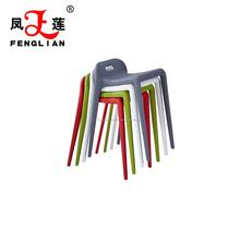 Banquinho de plástico PP cadeira pilha de preços por atacado barato