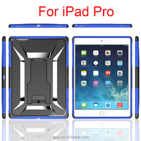 2 in 1 Slim Armor TPU&PC kickstand case cover for Apple ipad pro, 12.9 inch case for ipad pro