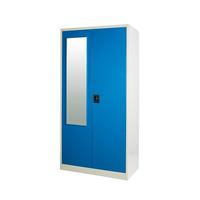 steel wardrobe bedroom furniture wardrobe locker design Modern vertical door storage cupboard steel storage closet