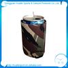 can cooler bottle koozie neoprene beer bottle koozie with opener\t keychain