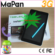 Front and back camera tablet pc, External 3G,making phone,7inch 5points capacitive touch screen,MX710A-3G