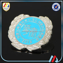 cheap embossed custom made badge