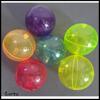 plastic tpu colorful flashing bouncing ball