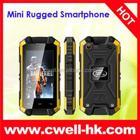 MINI J5 small size touch screen phone 3G android 4.2 dual core Dual SIM Card