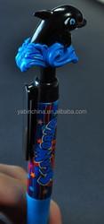 3D printing unique cartoon image promo pens/ good quality creative originality customized colorful school stationery