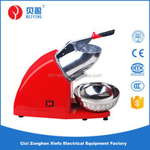 Plastic body with aluminum hopper shop ice crusher