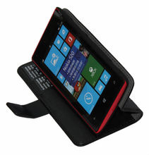 2013 New For Nokia Lumia 520 Pu Leather Flip Case