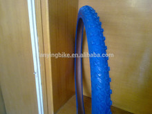 blue color high quality fashion tire for mountain bicycle