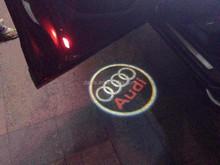 2pcs X 4th Gen Ghost Shadow Light Laser Projector Lights LED Car Logo Wireless courtesy Door light,Led Ghost