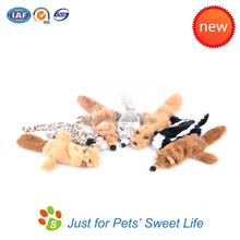 Unique pet products wholesale squeaker plush dog toys