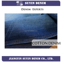 12oz wholesale 100% cotton slub denim fabric for mens jeans