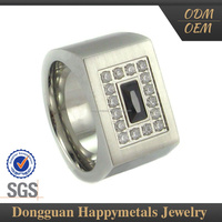 Best Quality Stainless Steel Customize Mood Stone Ring