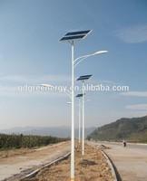 best sell double arm solar LED street light