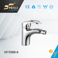 China chrome plated bathroom faucet brass health bidet faucets for women
