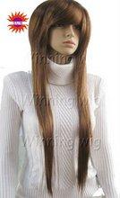 layed silky straight kanekalon synthetic hair wig NYSWIG-535