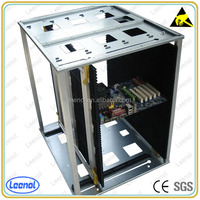 ESD Magazine SMT Rack For PCB Storage Screw Adjustment Type