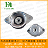 Bell type rubber shock absorber