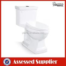 New Ceramic Siphinc One Piece Bathroom Toilet