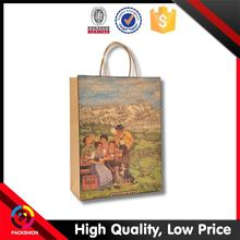 Direct Factory Price Custom Fit Recycle Environmental Protect Paper Bag
