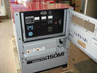 used diesel generating set , collected in japan market