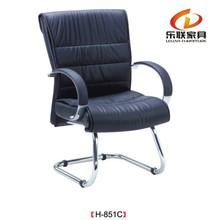 Verbunden tisch stuhl/Laptop tisch stuhl/Leder stuhl mit stahlrahmen h-851c