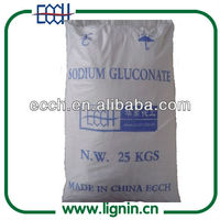 sodium gluconate ecch as mineral binder