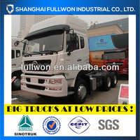 SINOTRUK 6X4 380PS USED TRACTOR HEAD FOR SALE