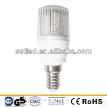Plastic E27 E14 SMD 2 Year Warranty LED Lamp 360 Degree CE RoHS Corn LED Bulb