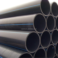 water supply pipe flexible pipe Plastic PE pipe for drinkable water