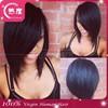 Short Cut 100% Virgin Brazilian Glueless Lace Front Wigs / Full Lace Wigs Human Hair Bob Style Remi Hair Wigs For Black Women