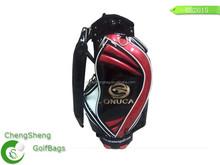 customize PU leather golf cart bag