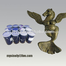 & y escultura y el arte de fundición de moldeo de silicona
