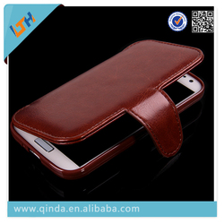 2014 wholesale cell phone case mobile phone leather case for Samsung Galaxy s4 case For Samsung phone accessory